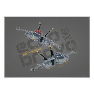 Echo and Bravo Jolly Wrenches Poster