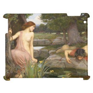 Echo and Narcissus by John William Waterhouse Cover For The iPad