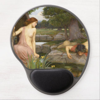 Echo and Narcissus by John William Waterhouse Gel Mouse Mats