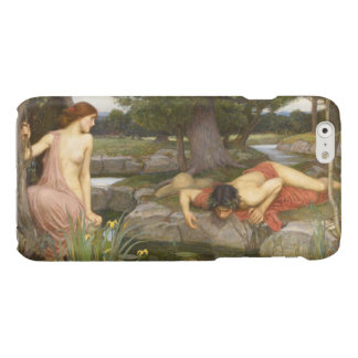 Echo and Narcissus by John William Waterhouse Glossy iPhone 6 Case