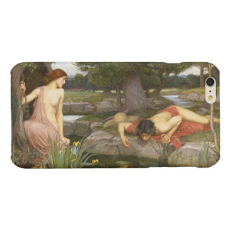 Echo and Narcissus by John William Waterhouse Glossy iPhone 6 Plus Case