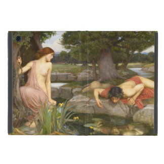 Echo and Narcissus by John William Waterhouse iPad Mini Cover