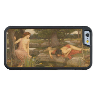 Echo and Narcissus by John William Waterhouse Carved® Maple iPhone 6 Bumper Case