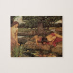 Echo and Narcissus fine art Jigsaw Puzzles
