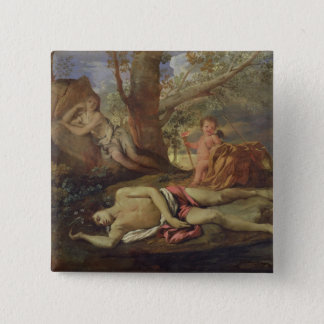 Echo and Narcissus Pinback Button