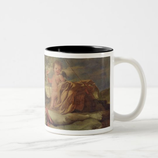 Echo and Narcissus Two-Tone Coffee Mug