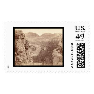Echo Canyon seen through Sioux Pass SD 1891 Stamps