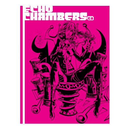 Echo Chambers Postcard