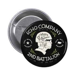 Echo Company 2nd Battalion 54th Infantry Regiment Pins