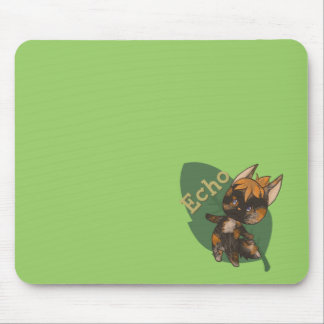 Echo Crossing-Style Kitty Mouse Pad