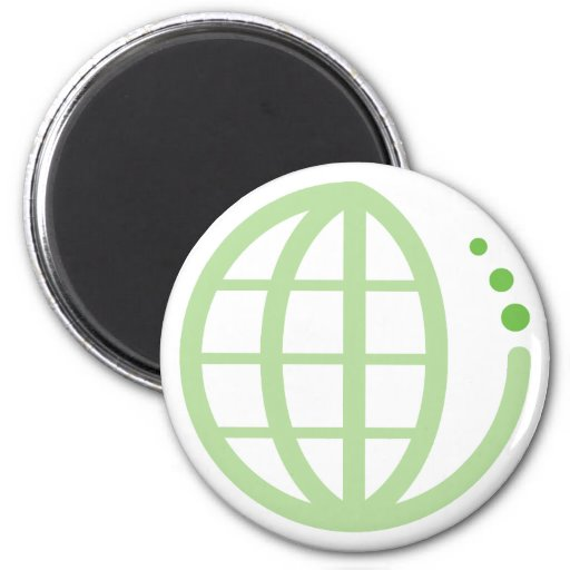 echo earth 2 inch round magnet