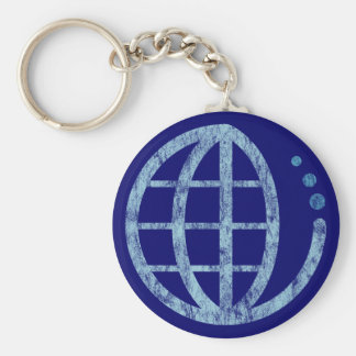 echo earth : conserve water keychain