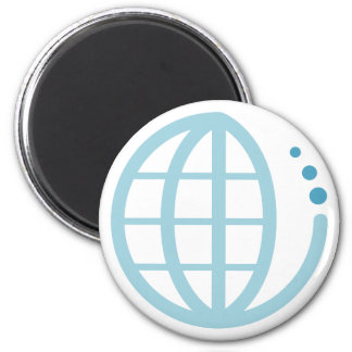 echo earth : conserve water 2 inch round magnet