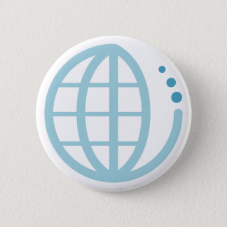 echo earth : conserve water pinback button