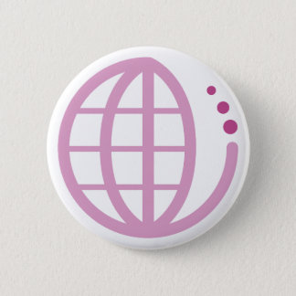 echo earth : mother earth pinback button