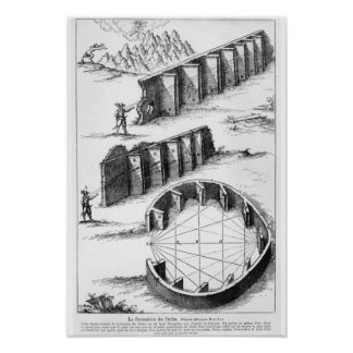Echo Formation, book by Athanasius Kircher Poster