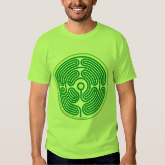 echo labyrinth august green T-Shirt