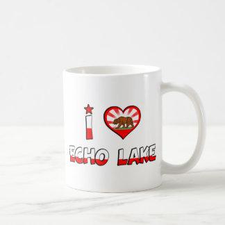 Echo Lake, CA Classic White Coffee Mug