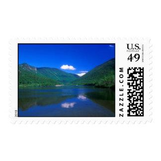 Echo Lake Franconia Notch Postage Stamp