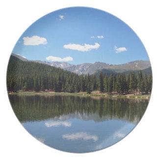 Echo Lake Mt Evans Colorado Dinner Plate