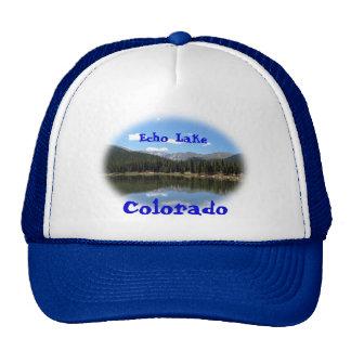 Echo Lake Mt Evans Colorado Trucker Hat