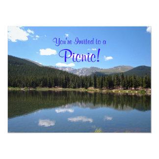 Echo Lake Mt Evans Colorado 6.5x8.75 Paper Invitation Card