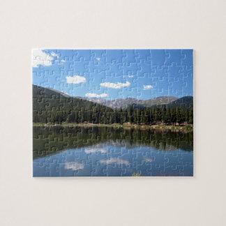 Echo Lake Mt Evans Colorado Jigsaw Puzzle
