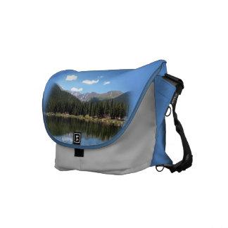 Echo Lake Mt Evans Colorado Messenger Bag