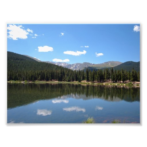 Echo Lake, Mt. Evans, Colorado Photographic Print