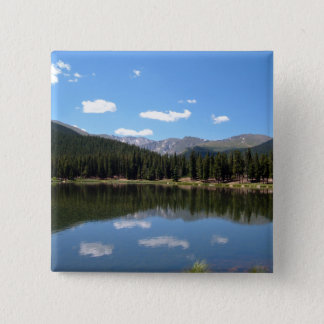Echo Lake Mt Evans Colorado Pinback Button
