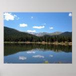 Echo Lake Mt Evans Colorado Poster