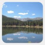 Echo Lake Mt Evans Colorado Square Sticker