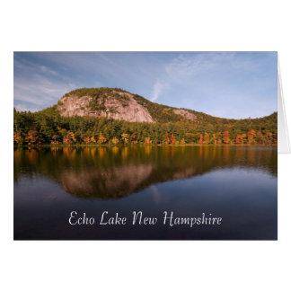 Echo Lake New Hampshire  Card