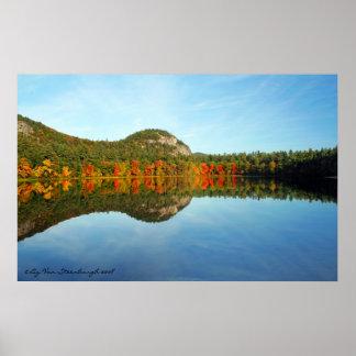 Echo Lake, New Hampshire Poster