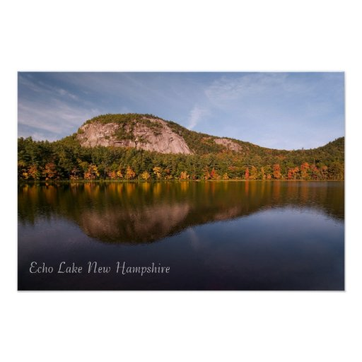 Denver News Echo Lake: Echo Lake New Hampshire Print