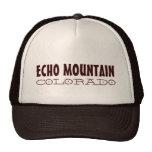 Echo Mountain Colorado simple brown hat