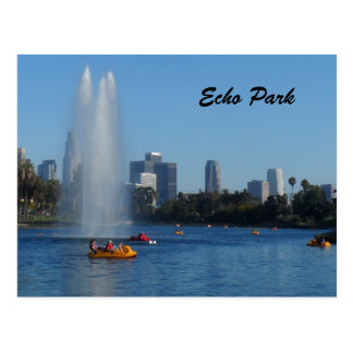 Echo Park Lake -Los Angeles Post Cards