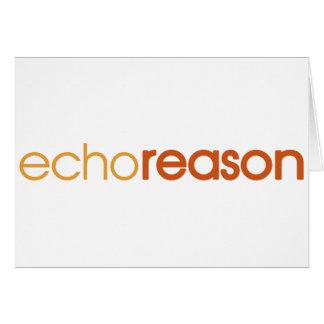 Echo Reason Cards