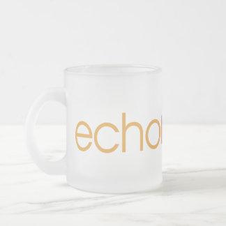 Echo Reason 10 Oz Frosted Glass Coffee Mug