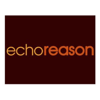 Echo Reason Post Cards
