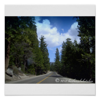Echo Summit US Route 50 Collection Poster
