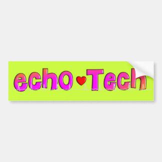 Echo Tech (Cardiac Echo Tech) Gifts Bumper Sticker