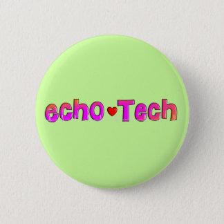 Echo Tech (Cardiac Echo Tech) Gifts Pinback Button