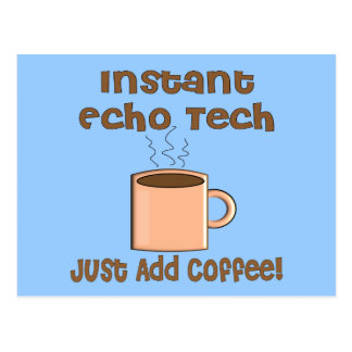 Echo Tech Gifts (Cardiac Echo Tech) Postcard
