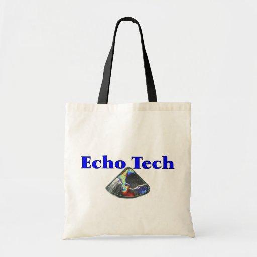 Echo Technician Gifts (Cardiac Echo Tech) Tote Bags