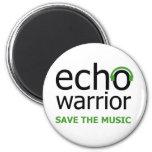 Echo Warrior Fridge Magnet