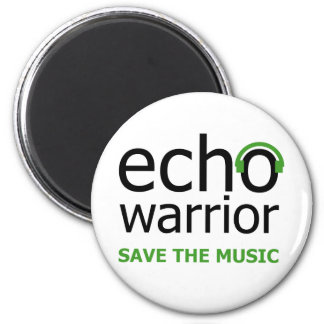 Echo Warrior Magnet