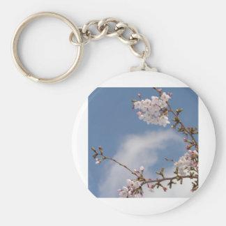 Echo work of cherry tree bloom keychain