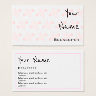 """""""Echoes"""" Beekeeper Business Cards"""