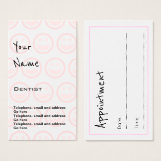 """""""Echoes"""" Dentist Appointment Cards"""